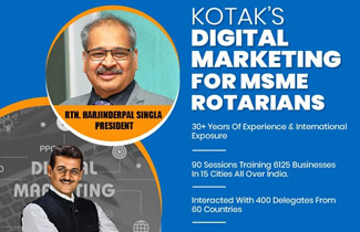 98th Session for MSME Rotarians completing 99th tomorrow for New. Ex Exclusive Network Of Entrepreneurs WorldWide.