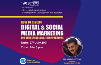 How to develop DIGITAL & SOCIAL MEDIA MARKETING for entrepreneurs
