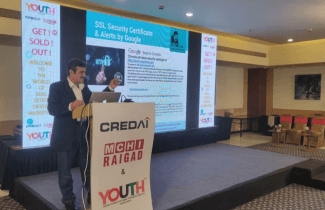 Get Sold Out - Digital Marketing Session attended by 170+ Real Estate developers from VASHI & RAIGAD