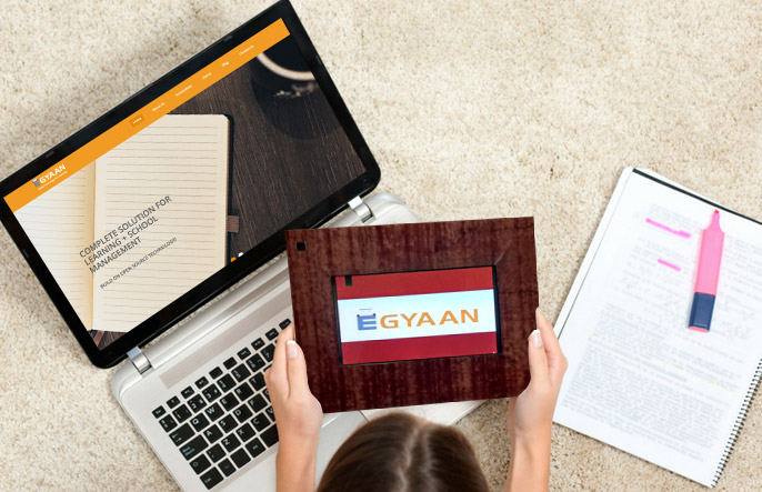 E-Gyaan Using OpenSource Technology For Education!